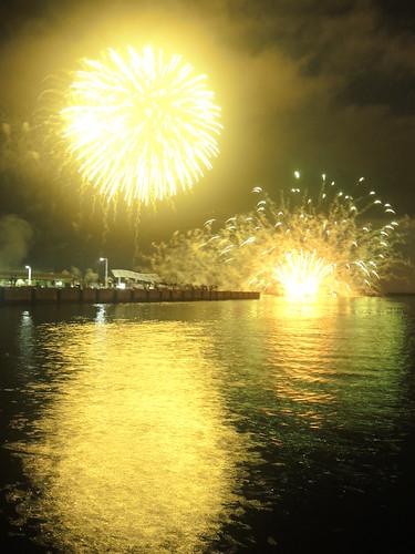 Fireworks at Wakkanai on AUG 02, 2015 (14)