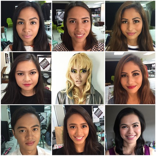 fashion makeup class in fashion institute of the philippines