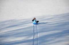Sledging in fresh snow II