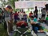 Agenda tahunan Bali Blogger Community (BBC), Bloody Valentine. Kali ini diadakan di Lapangan Renon, Denpasar. Terkumpul 32 kantong darah untuk PMI dan sekitar Rp 2 juta sumbangan untuk korban tanah longsor di Kintamani, Bangli.