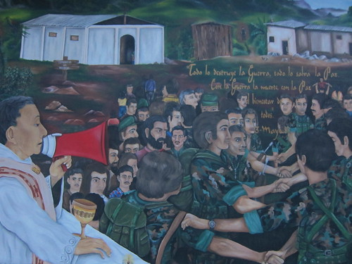 One of the Murals about the History of San Rafael
