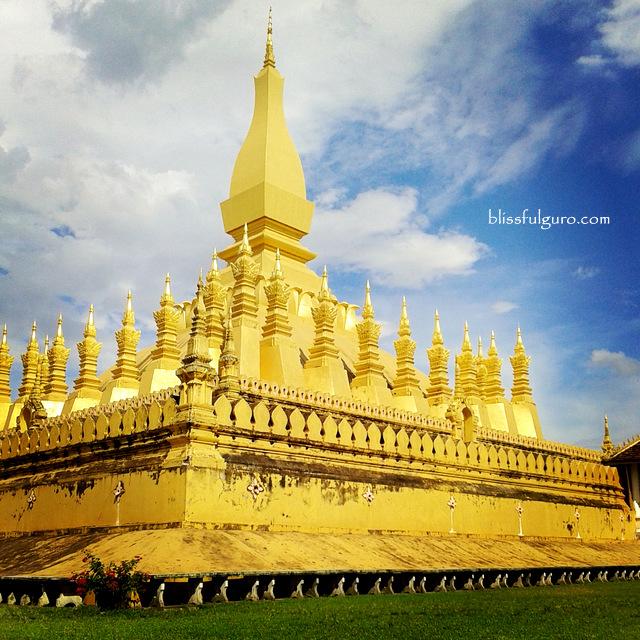 Pha That Luang Vientiane Laos