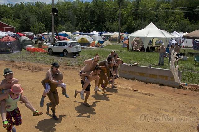 naturist 0001 FreeForm Festival, Pennsylvania, USA