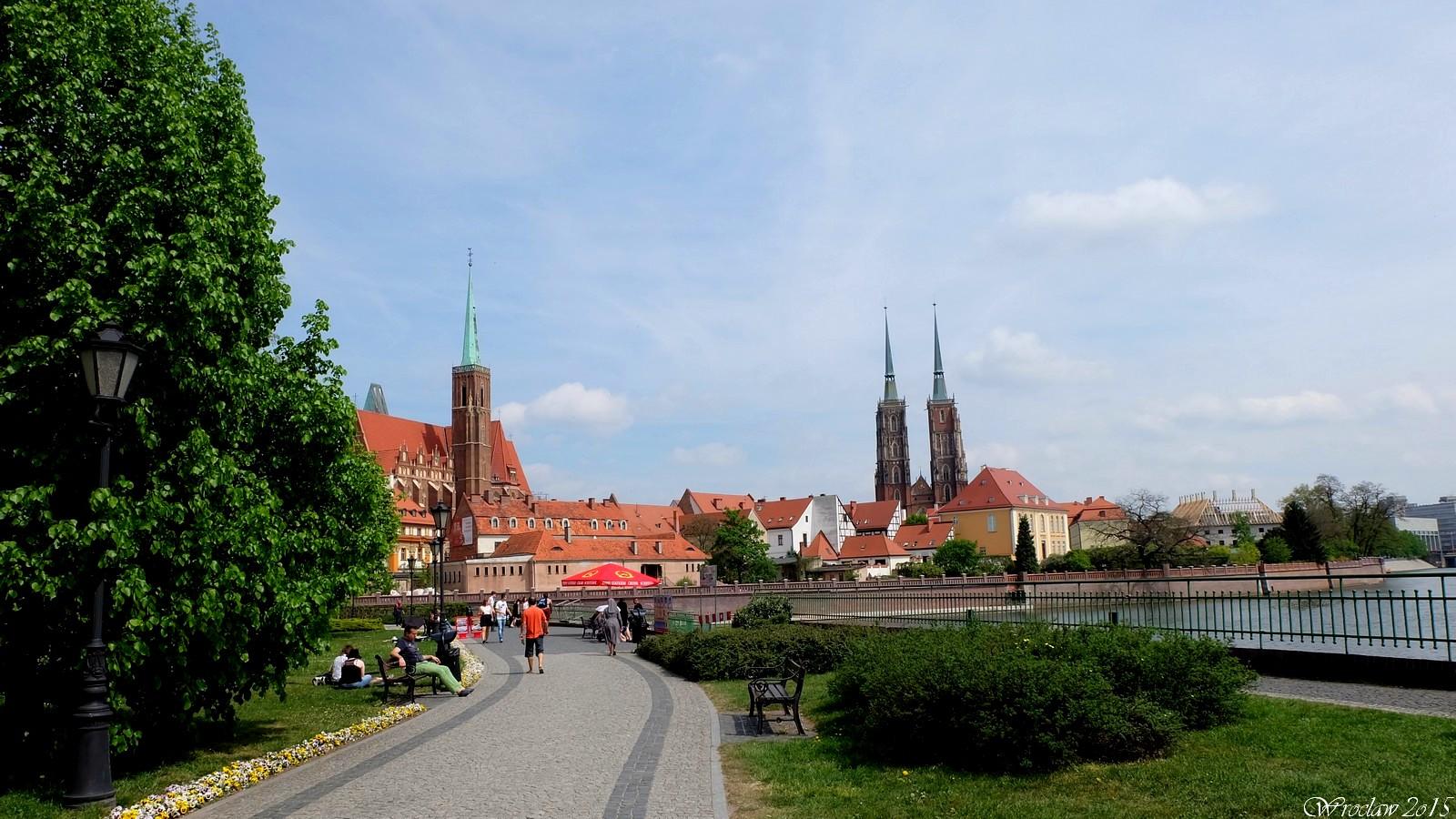 Wyspa Piasek, Wroclaw, Poland