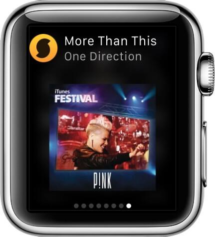 SoundHound in Apple Watch