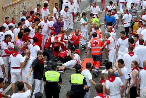 San Fermín 2015 - Encierro dia 7
