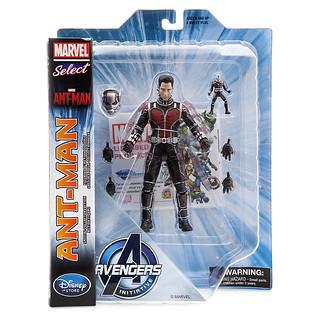 Marvel Select【蟻人 Ant-Man】電影版 迪士尼商店限定 變大變小變變變