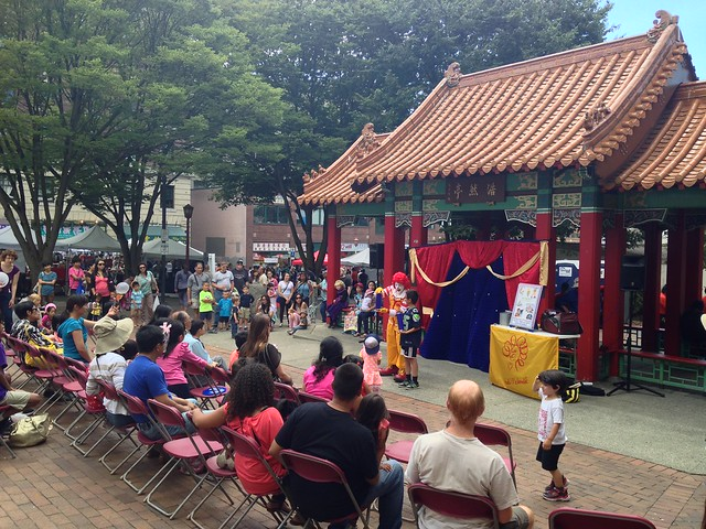 Seattle's Chinatown International District Dragon Fest 2015