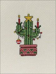 Christmas Saguaro Cactus ornament