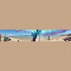 #Panorámica playera a ojo sombrillero! :wink: #igers #igersguardamar #instagramers #Guardamar #Alicante #Alacant #Costablanca #MarMediterráneo #playa #beach #summer #summer2015 #verano2015 #verano