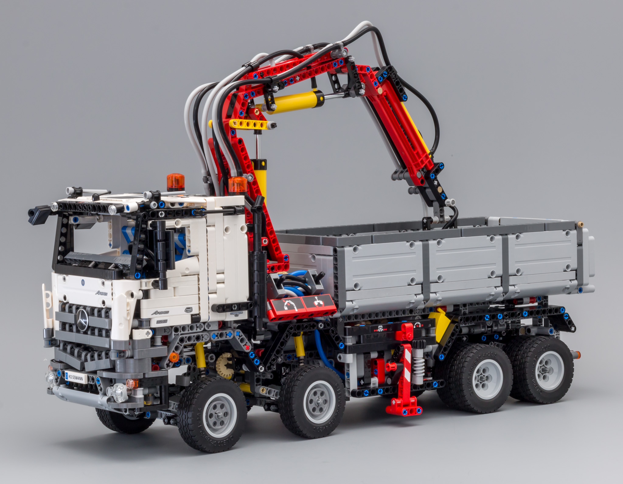 review 42043 mercedes benz arocs 3245 lego technic