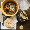 So I tried Panera Bread today for a very late lunch. I would say the soba noodle bowl with edamame and the tomato mozzarella flatbread was not what I expected it to be in terms of flavor... maybe because it's considered as healthy food. :stuck_out_tongue_