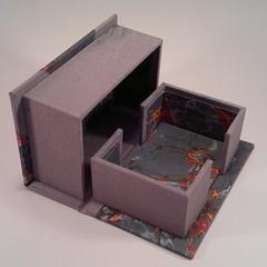 cardboard, box, scale model,