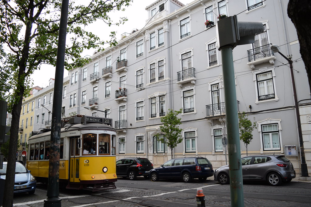 Lisbon, Portugal Tram