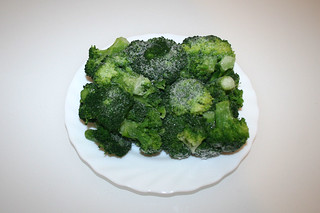 02 - Zutat Broccoli / Ingredient broccoli