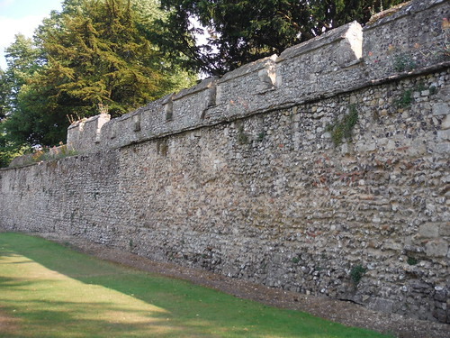 Old City Wall by Wolvesey Castle