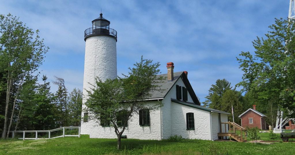 """Old"" Michigan Island Light"
