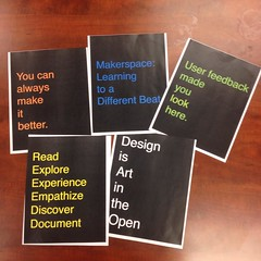 Prototyping 6-Word Manifestos as a class intro activity. HT: Project H