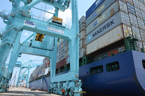 Maersk Line begins weekly service through JAXPORT