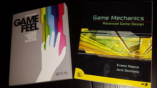 My New Game Design Books