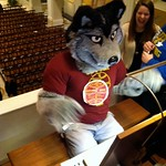 LU Wolf at MDS Chapel