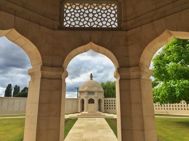 Memorial indio de Neuve Chapelle (Norte de Francia)