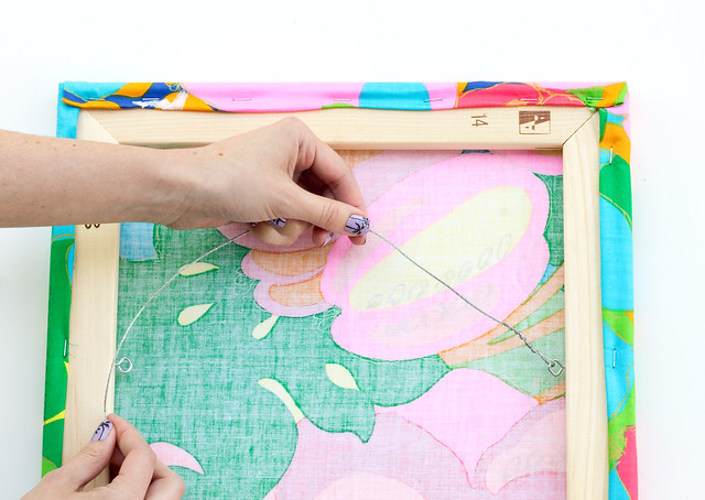 DIY Easy Fabric Art by Vitamini Handmade