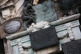 Recoleta Cemetery.  Buenos Aries, Argentina.