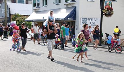 Children's Parade in Duncan 2015