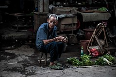 Veggie seller...