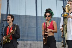 Newport Jazz Festival 2015-Jon Batiste & Stay Human