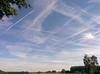 The chemtrails over Belgium. You know it to be true!