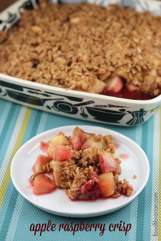 Apple Raspberry Crisp from Bon Appetit