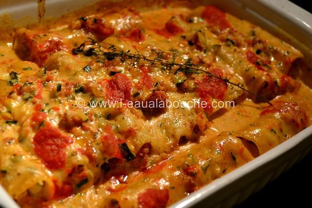 Cannelloni au Porc et aux Courgettes © Ana Luthi Tous droits réservés 019