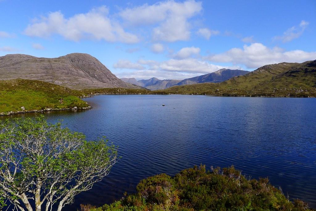 Torridon across Loch na Craoibhe-caoruinn