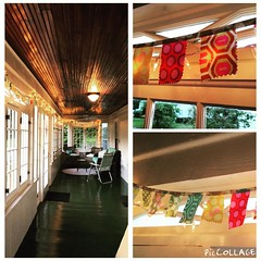 24/52  Banners for the win!  Happy front porch in the making! #makestuff #handmade #sew #homefront #52in15