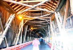 Inside the longest covered bridge