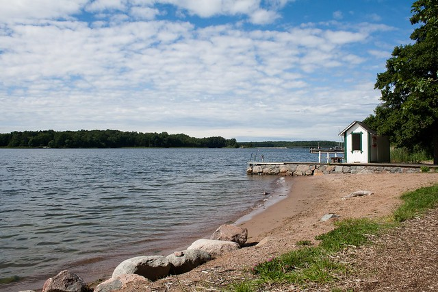 Small beach on Vaxholm