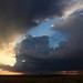 Luz de tormenta (Pajares de la Laguna, Salamanca) by escribientedetodo