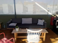 Rooftop at Hotel bed & chic.   Gran Canaria