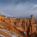 Rainbow in Bryce canyon by Arun Sundar