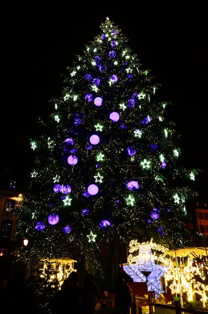 Le Grand Sapin De Noël De Strasbourg Chia Yu Lin Flickr