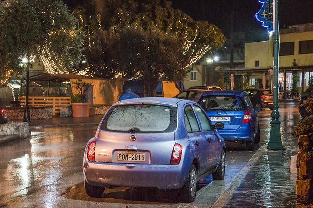 Νιφάδες χιονιού και χιονόνερο απόψε για λίγο στην Ψίνθο !