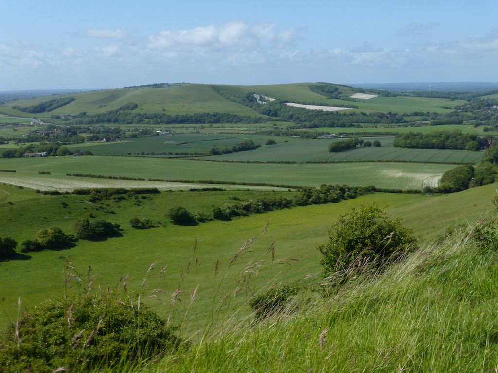 Mount Caburn from section two Lewes Circular walk