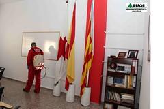 COLABORACIÓN DE REGENERACIO FORESTAL S.L. EN LA DESINSECTACIÓN, DESINFECCIÓN Y DESRATIZACION DE LA ASAMBLEA DE CRUZ ROJA ESPAÑOLA EN L'ALCUDIA - TRATAMIENTO CON BIOCIDAS - RESPONSABILIDAD SOCIAL CORPORATIVA DE REFOR S.L. F17
