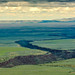 Taos Plateau and Rio Grande Gorge by mwwile