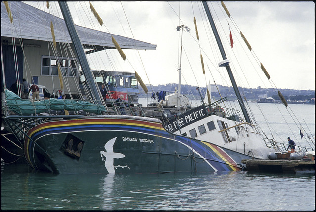 Photo of Rainbow Warrior