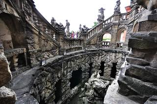 Image of  Troja  near  Sedlec. schodiště