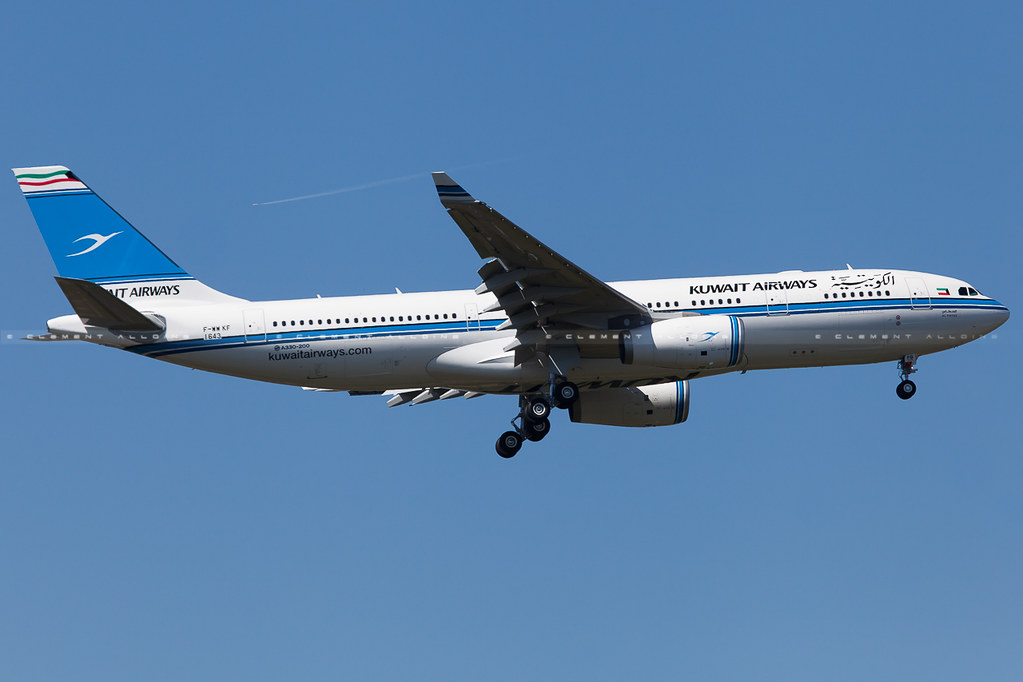 9K-APB - A332 - Kuwait Airways