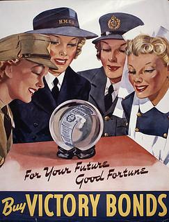 For Your Future Good Fortune (victory loan drive) / « Pour votre prochain coup de chance » :  campagne d'obligations de la Victoire